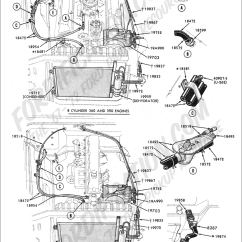 69 Mustang Heater Wiring Diagram 1999 Ford Explorer Front Suspension Truck Part Numbers (air Conditioning, Factory Integral (engine Compartment ...