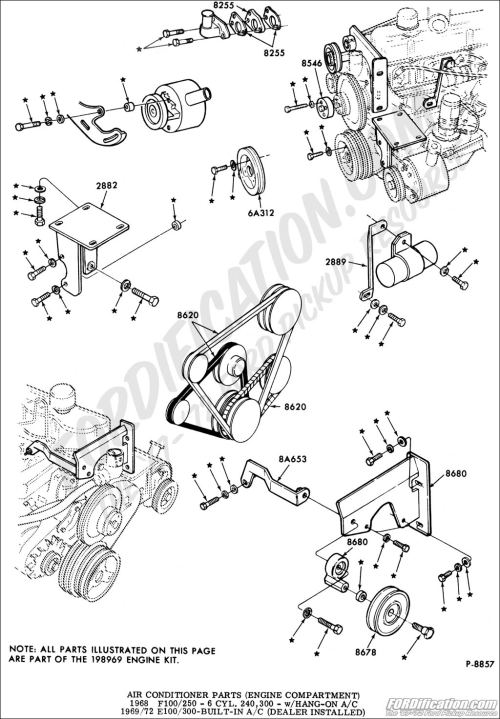 small resolution of ford truck technical drawings and schematics section f heating ford 460 engine part diagram ford 460