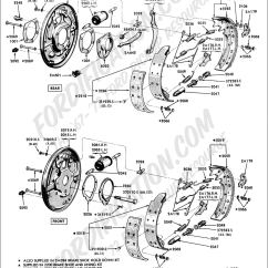 1983 Ford F100 Wiring Diagram Lights And Outlets On Same Circuit Truck Technical Drawings Schematics - Section B Brake Systems Related Components