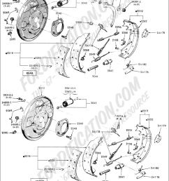 ford truck technical drawings and schematics section b brake systems and related components [ 1024 x 1415 Pixel ]