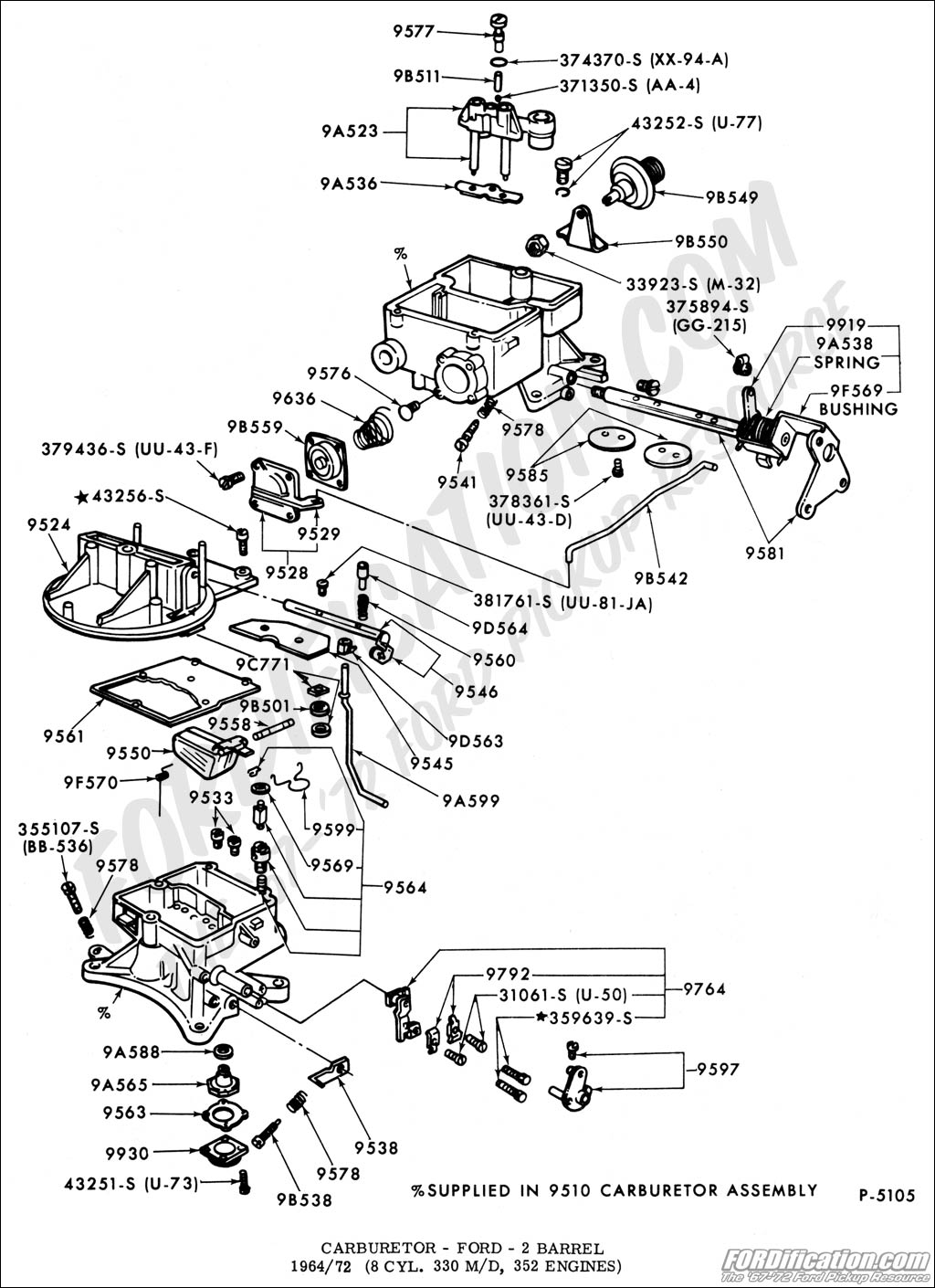 71 Chevy Carburetor Diagram