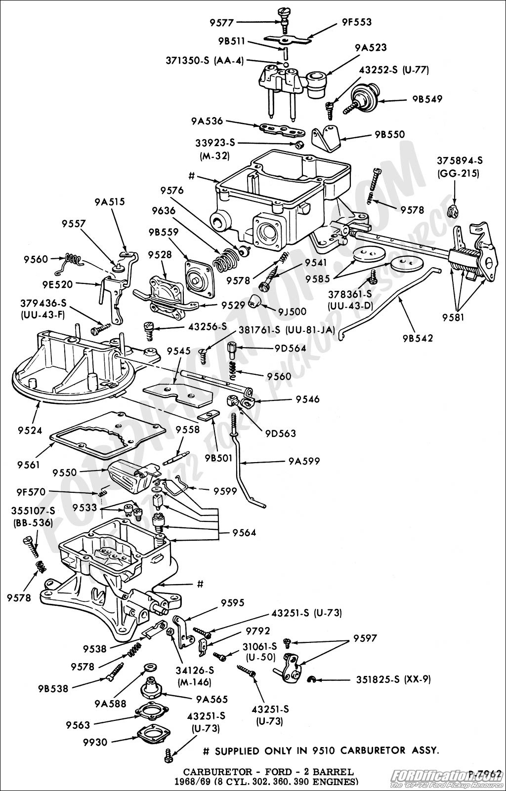 Polari 330 Carburetor Schematic