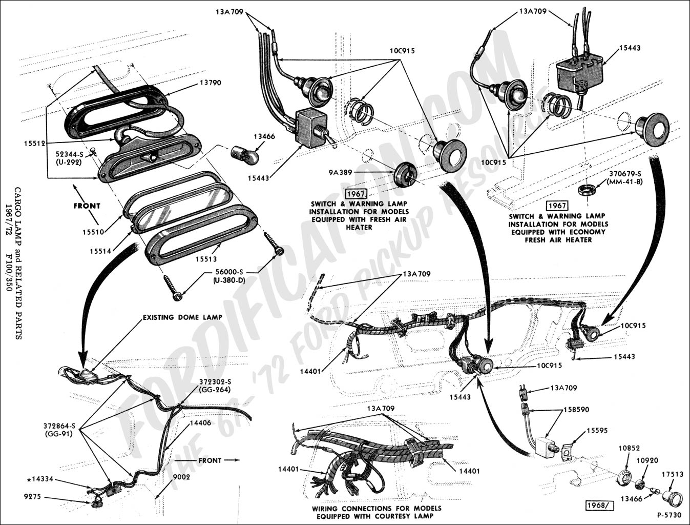 Ford F Horn Wiring Diagram Instructions 1966 F100 • Wiring