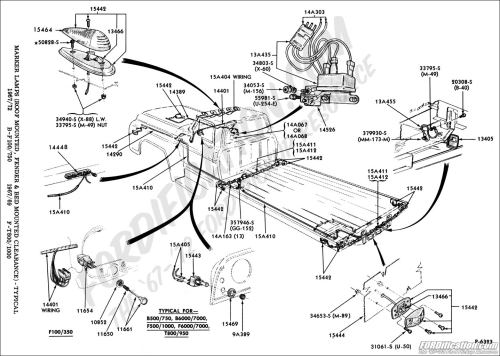 small resolution of ford truck technical drawings and schematics section i 1968 f100 steering column wiring diagram 1968 ford