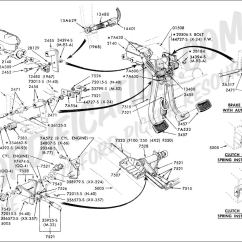 1983 Ford F100 Wiring Diagram For Honeywell Thermostat Rth2300 Rth221 Truck Technical Drawings And Schematics Section B