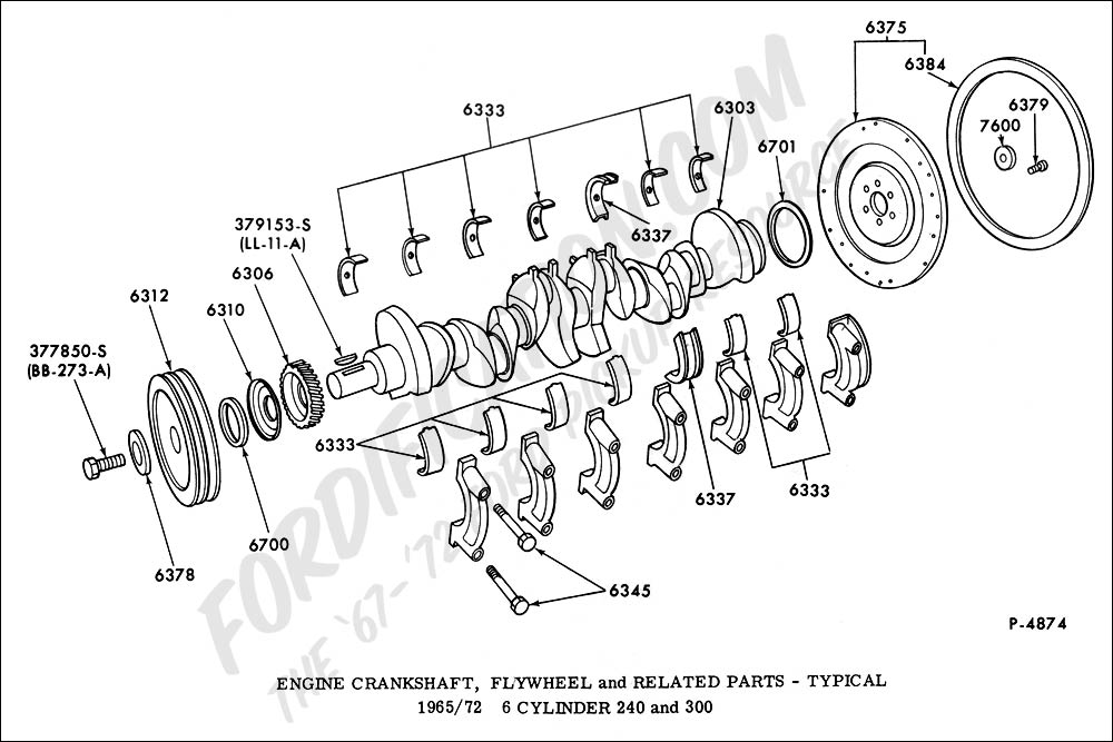 Flathead Engine Exploded Diagram Of A F, Flathead, Free