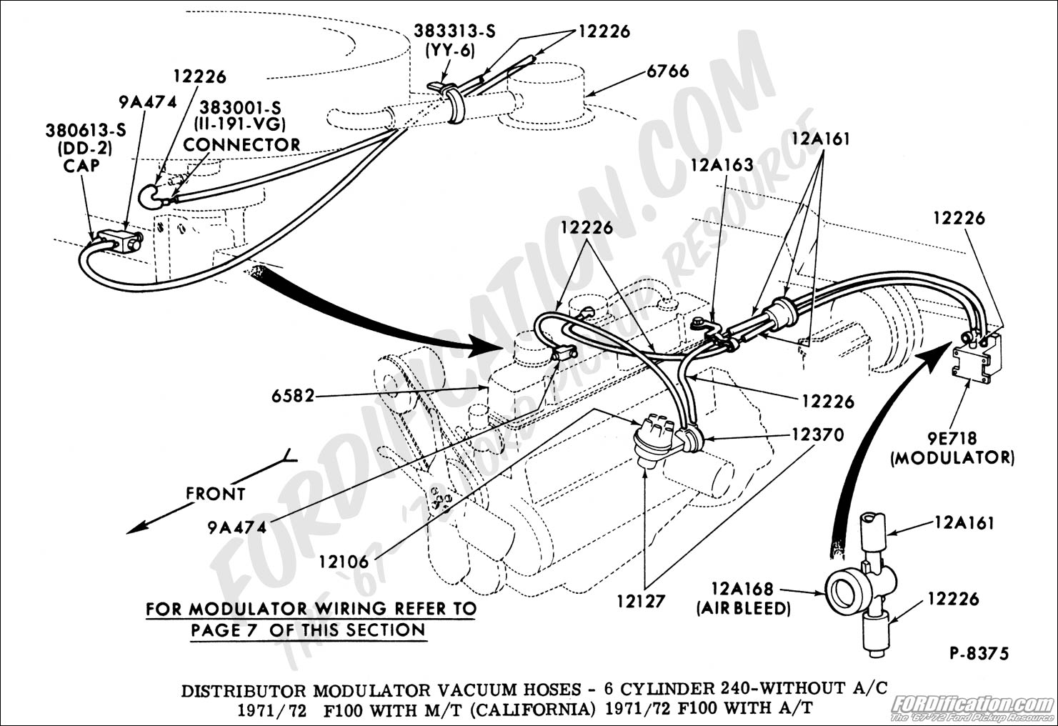 Firebird 400 Vacuum Line Diagram