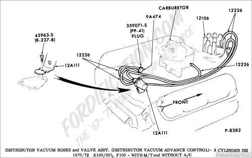 small resolution of ford truck technical drawings and schematics section i 1972 ford f100 vacuum diagram