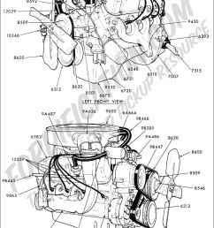 ford truck technical drawings and schematics section e 68 ford 302 engine diagram 68 ford 302 [ 899 x 1442 Pixel ]