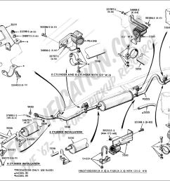 ford truck technical drawings and schematics section e 1992 ford f150 alternator wiring ford ranger alternator [ 1380 x 1025 Pixel ]
