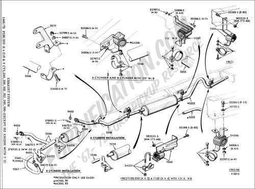 small resolution of ford truck technical drawings and schematics section e 1992 ford f150 alternator wiring ford ranger alternator