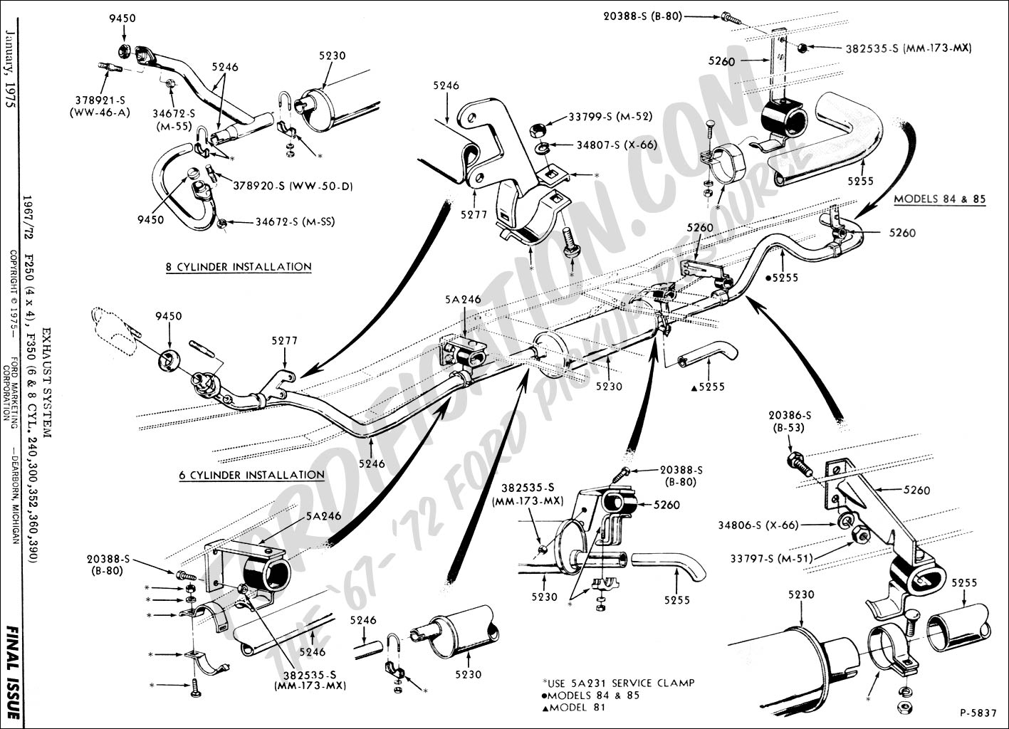 Ford Explorer Exhaust System Diagram