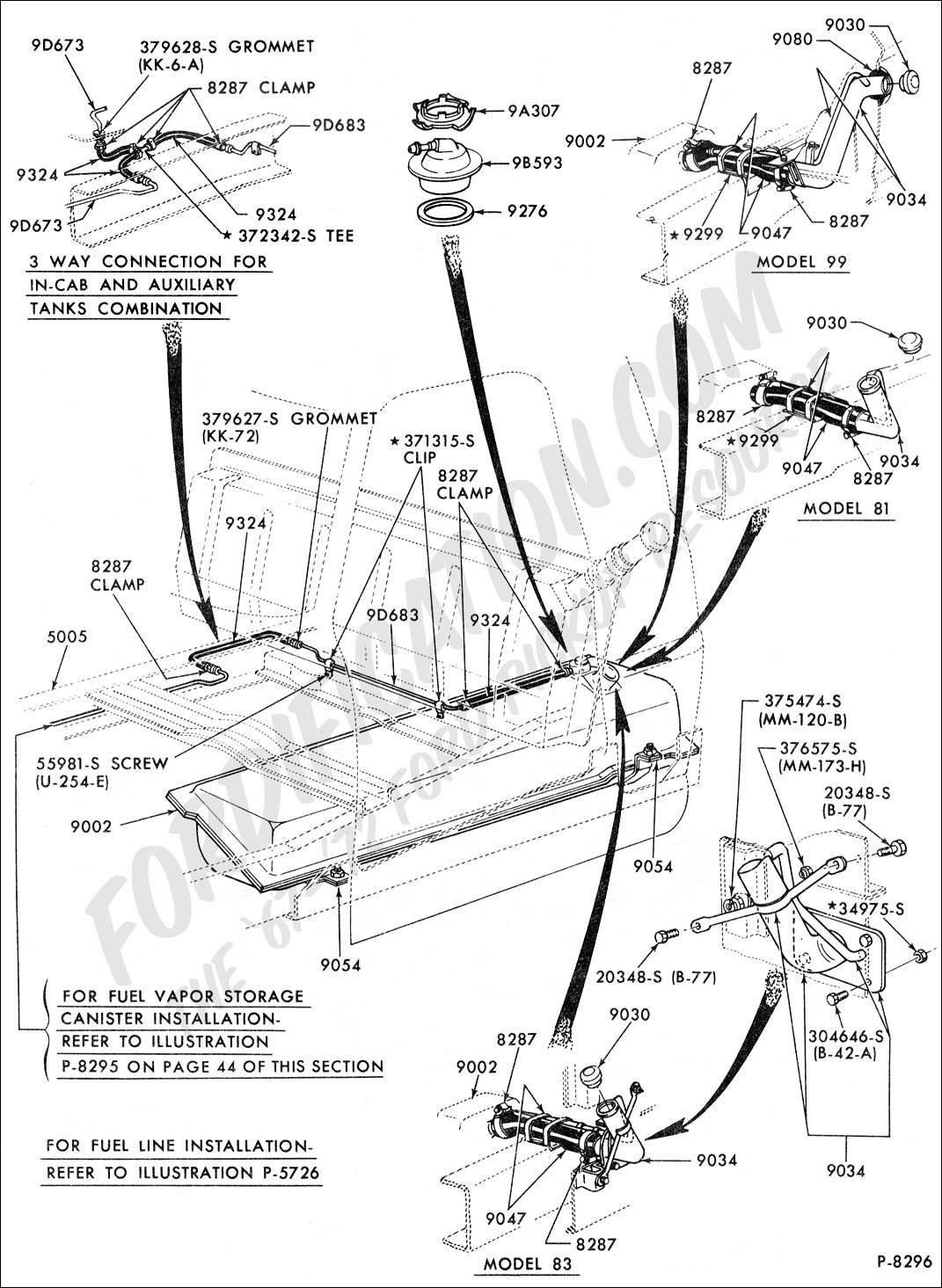 67 72 F 100 Fuel System Diagram