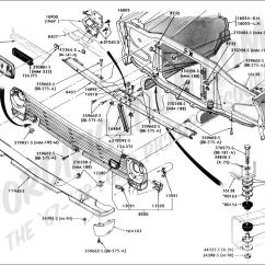 1955 Chevy Wiring Diagram Nema 14 30p Ford Truck Technical Drawings And Schematics - Section D Frame, Body Related Components
