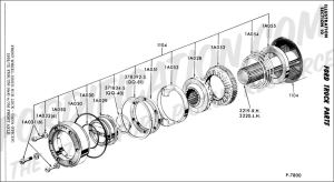 Ford 4x4 Hubs Diagram | Wiring Diagram