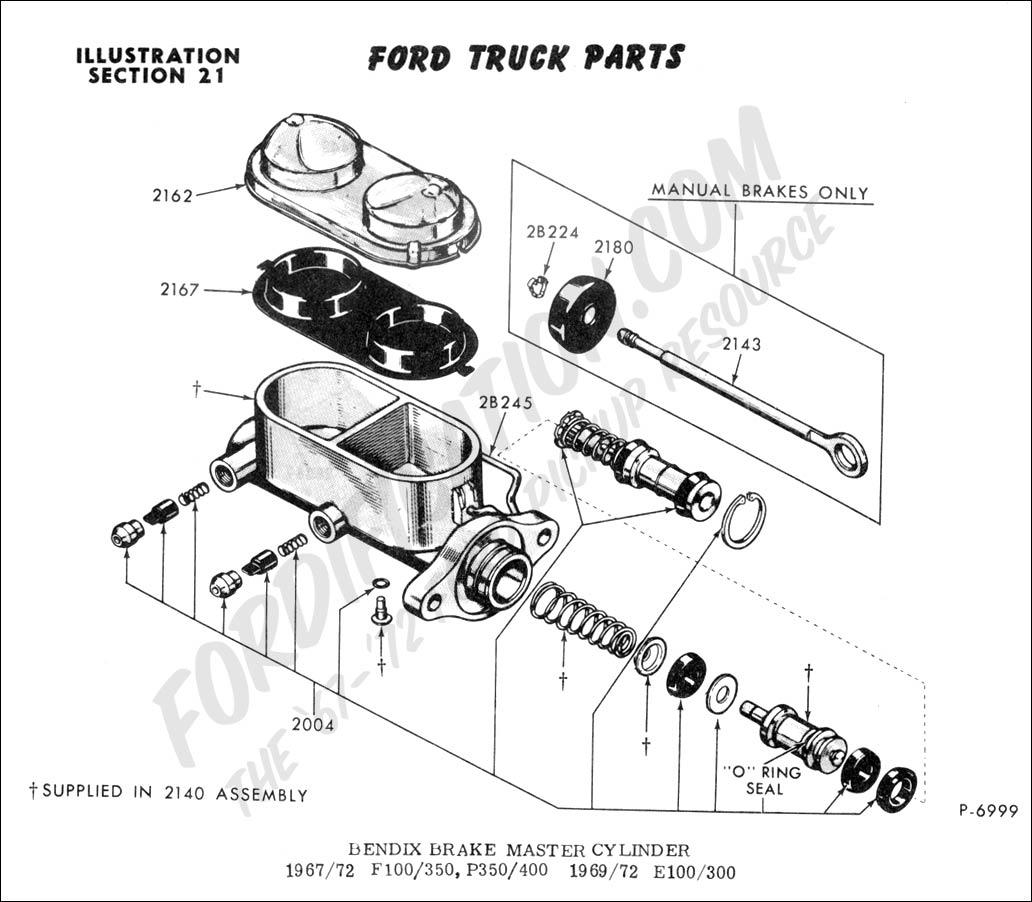1955 ford f100 master cylinder