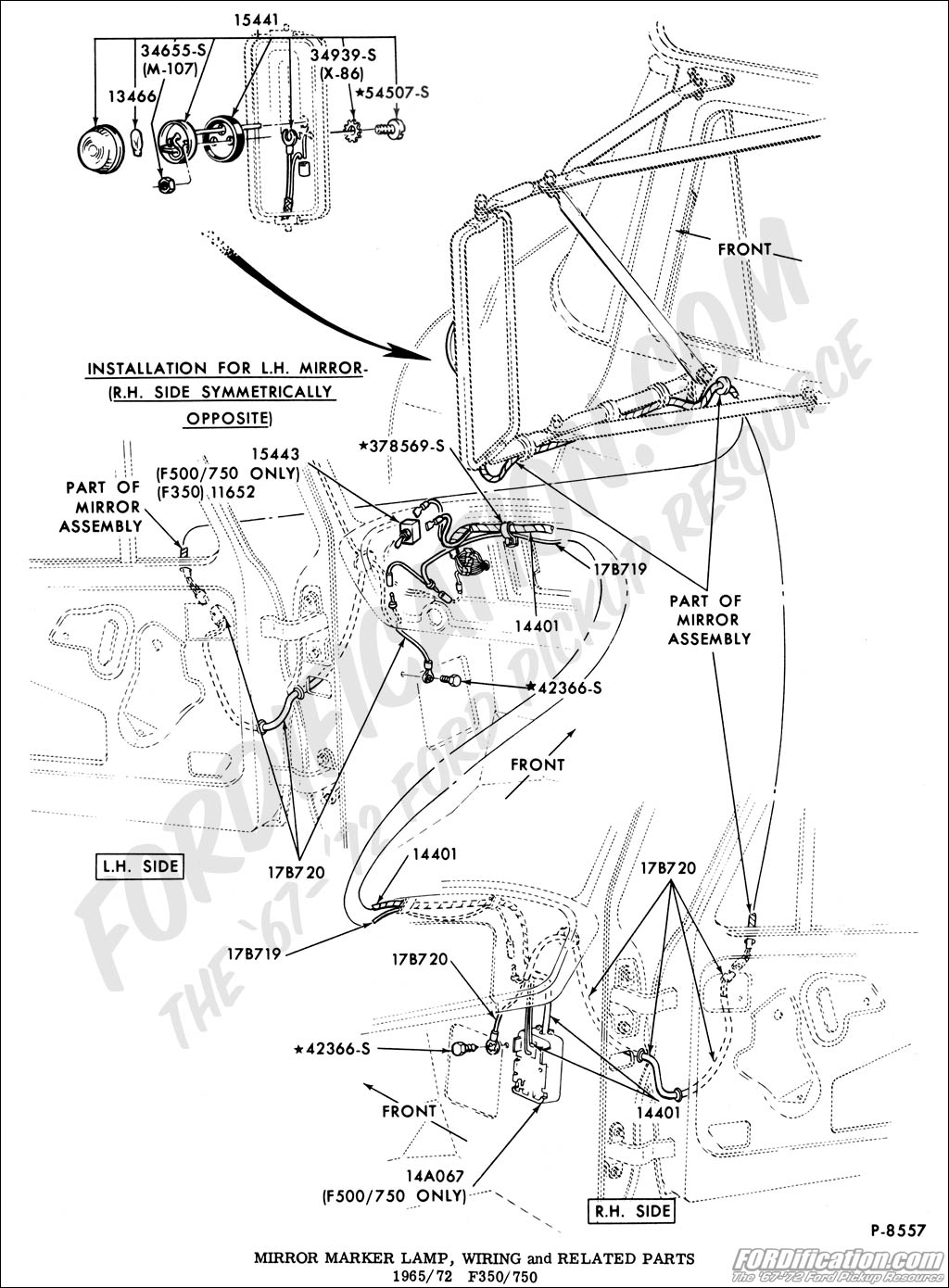 2006 ford lcf fuse diagram