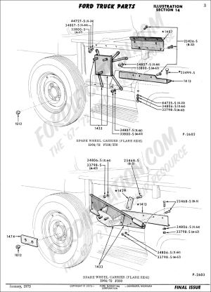 Ford Truck Technical Drawings and Schematics  Section D