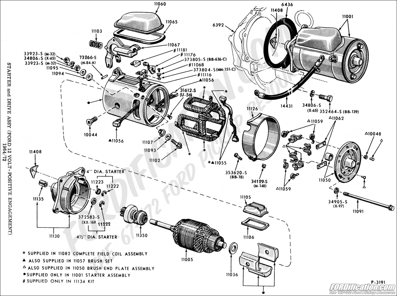 hight resolution of wiring ford starter motor brush wiring diagram hub ford starter solenoid diagram ford motor starter wiring
