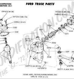 ford truck technical drawings and schematics section c steering rh fordification com ford 5000 steering box [ 1024 x 829 Pixel ]