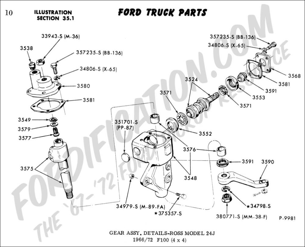 medium resolution of ford truck technical drawings and schematics section c steering systems and related components