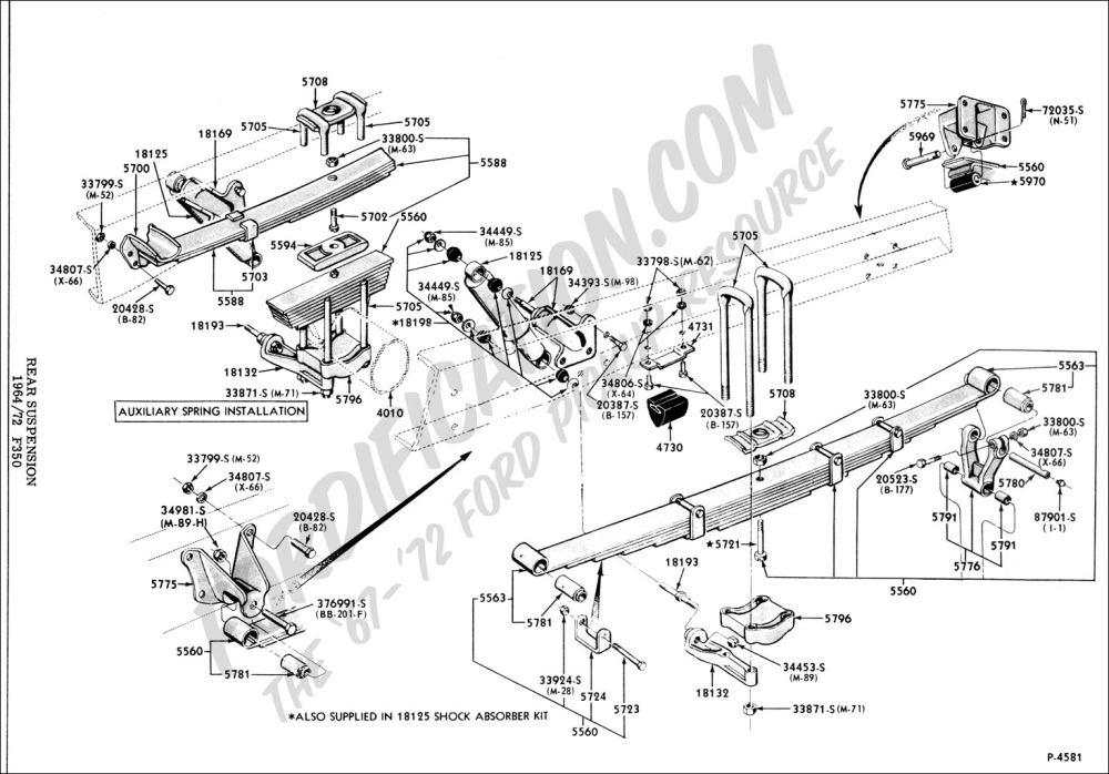 medium resolution of ford truck technical drawings and schematics section a front rear axle assemblies and suspensions