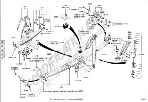 Ford Truck Technical Drawings and Schematics  Section A  FrontRear Axle Assemblies and