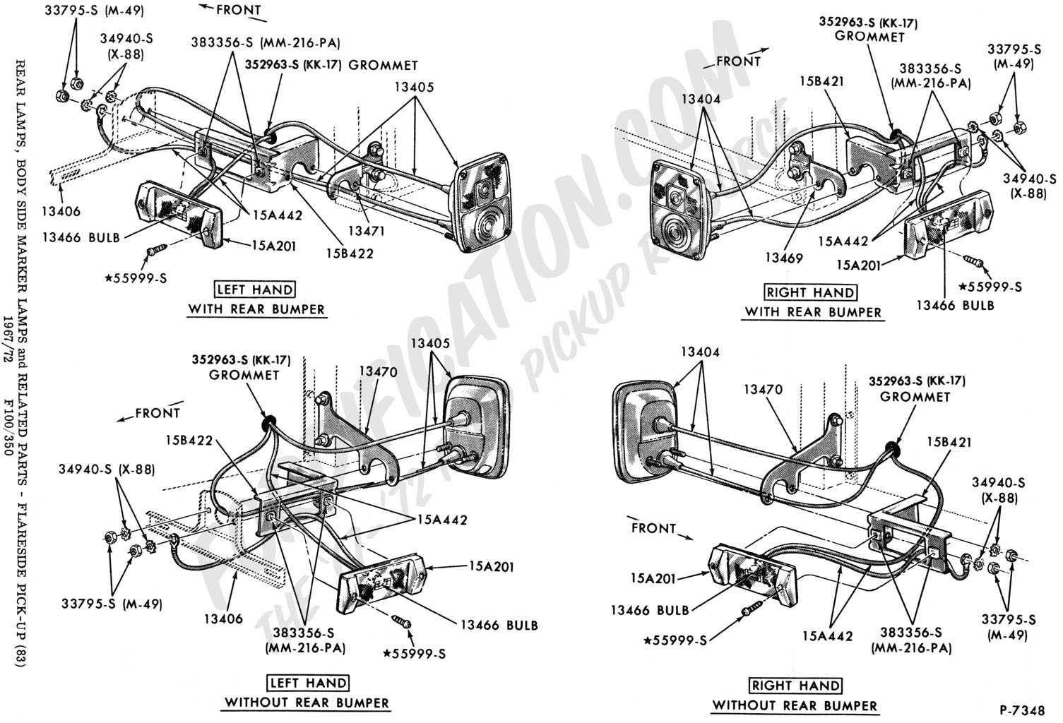 72 ford f100 wiring diagram chrysler radio truck technical drawings and schematics section i