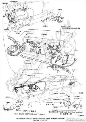 Ford Truck Technical Drawings and Schematics  Section I