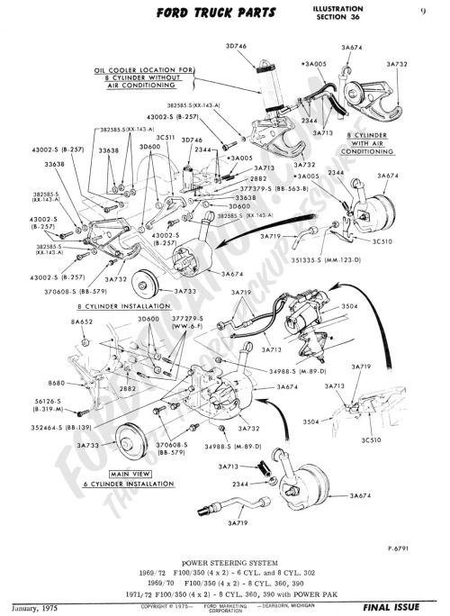 small resolution of ford truck technical drawings and schematics section c steering systems and related components