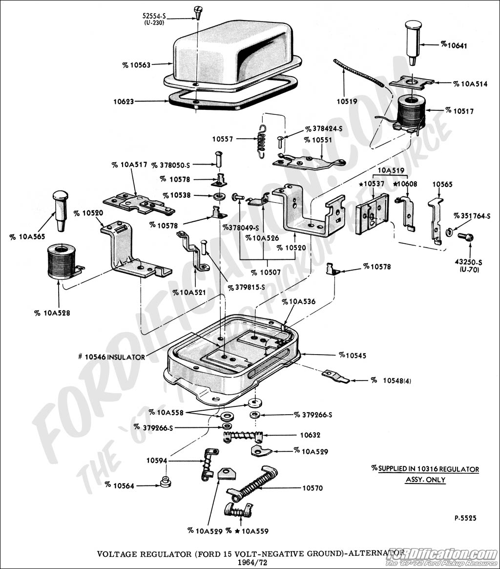 [WRG-8370] 1978 Ford Voltage Regulator Wiring Diagram