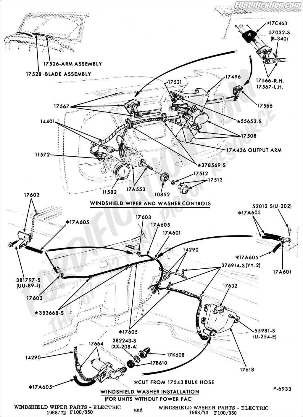 1968 ford f 250 stero wiring diagram