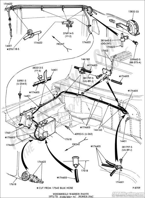 small resolution of ford truck technical drawings and schematics section i 1968 f100 steering column wiring diagram