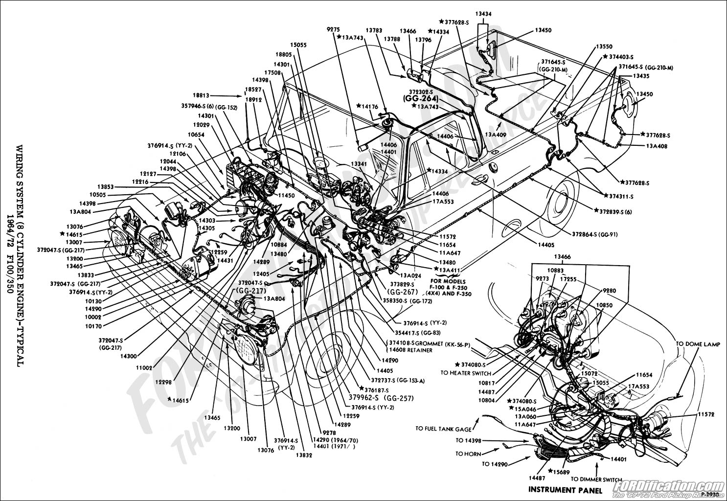 1963 ford f100 wiring diagram 220 volt plug truck technical drawings and schematics section i