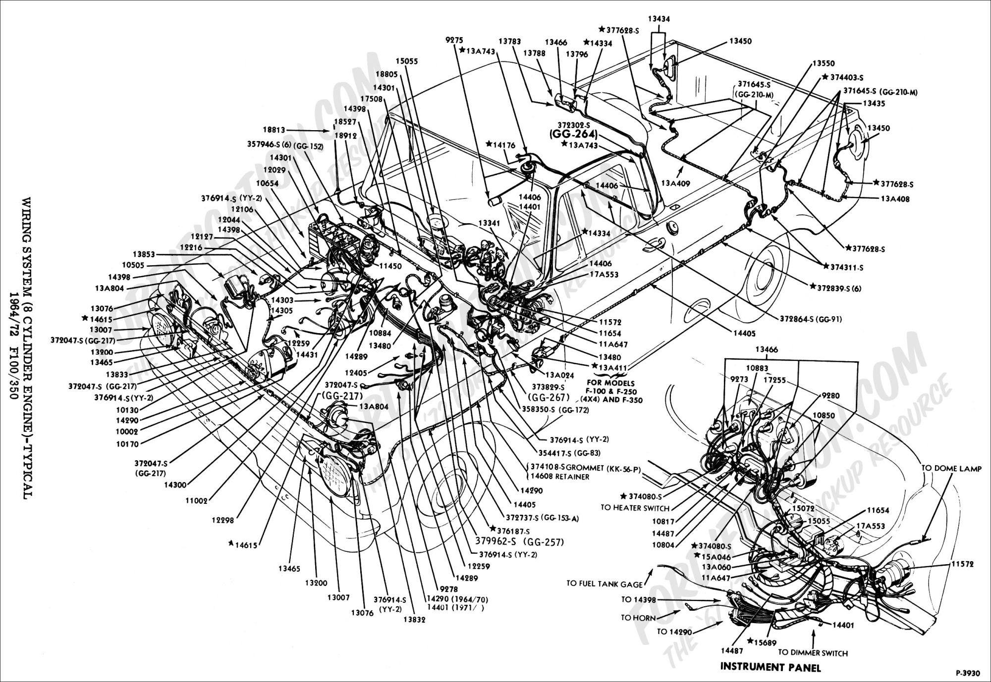 hight resolution of 1964 ford econoline van wiring diagram