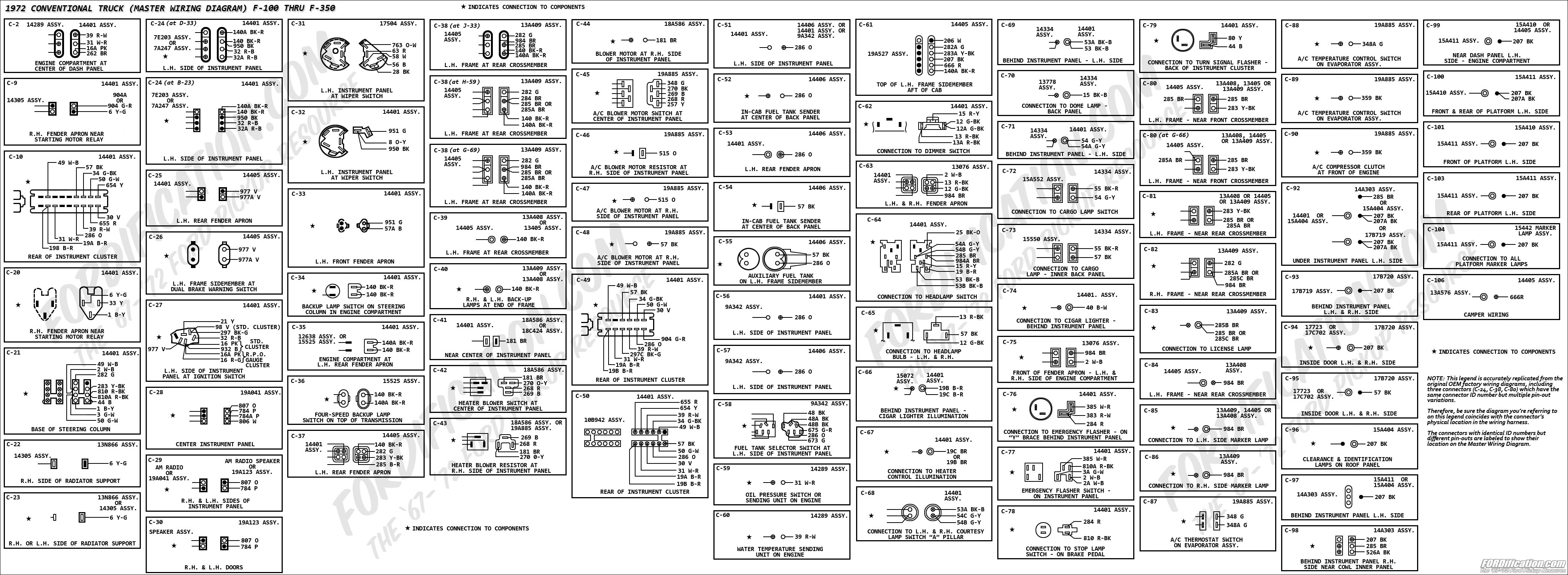 three phase wiring diagrams 2001 dodge ram trailer plug diagram 1972 ford truck - fordification.com
