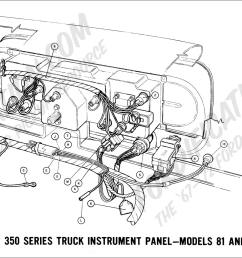 ford truck technical drawings and schematics section h wiring1968 f 100 thru f 350 instrument panel [ 2000 x 1083 Pixel ]