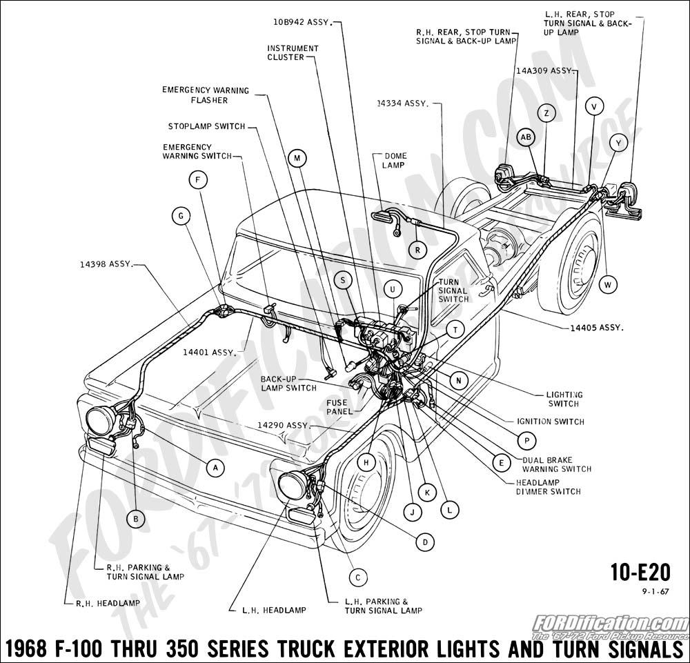 photos back up lights diagram 68 torino 68 70 ford wiring diagram