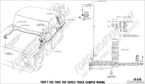small resolution of 68 47 ford truck technical drawings and schematics section h wiring truck camper