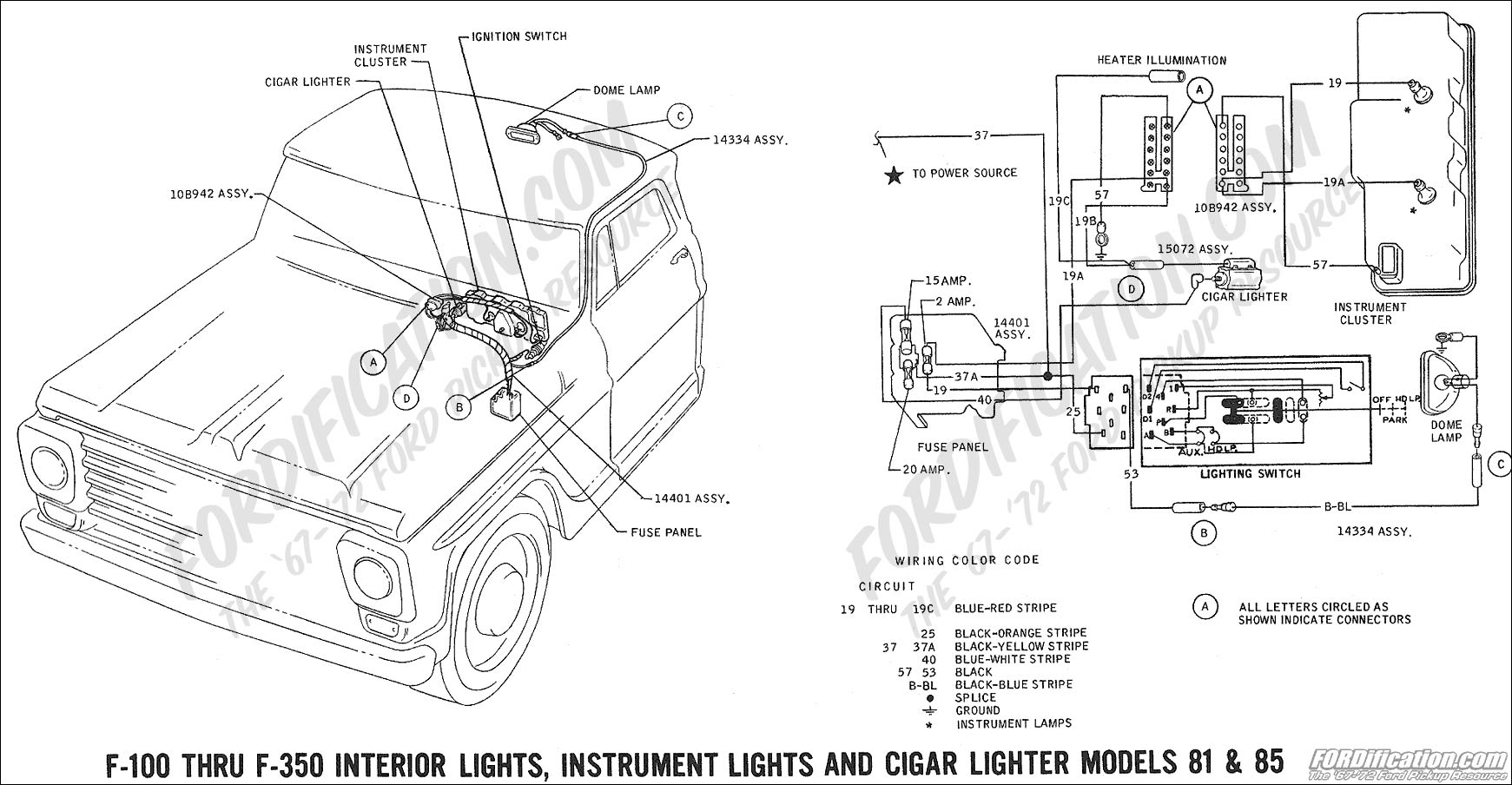Fuse Box Diagram Ford Bronco
