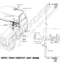 ford truck technical drawings and schematics section h wiring1967 f 100 f 250 courtesy light [ 2146 x 1247 Pixel ]