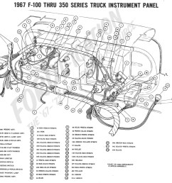 1967 f 100 thru f 350 instrument panel 1967 master wiring diagram [ 1383 x 1293 Pixel ]