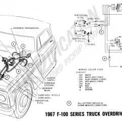 1968 F100 Wiring Diagram Jazzmaster Ford Truck Technical Drawings And Schematics Section H