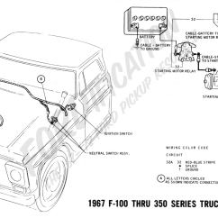 72 Ford F100 Dash Wiring Diagram Water Cycle Black And White Truck Technical Drawings Schematics Section H