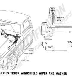 1967 f 100 thru f 350 windshield wiper and washer ford truck technical drawings and schematics  [ 2075 x 1038 Pixel ]