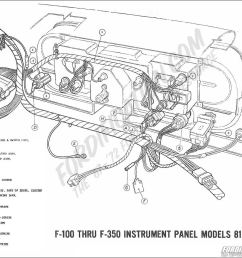 1969 wiring schematics 1969 f 100 thru f 350 instrument panel [ 1200 x 944 Pixel ]