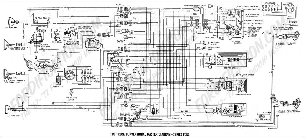 medium resolution of 1970 f 350 master diagram