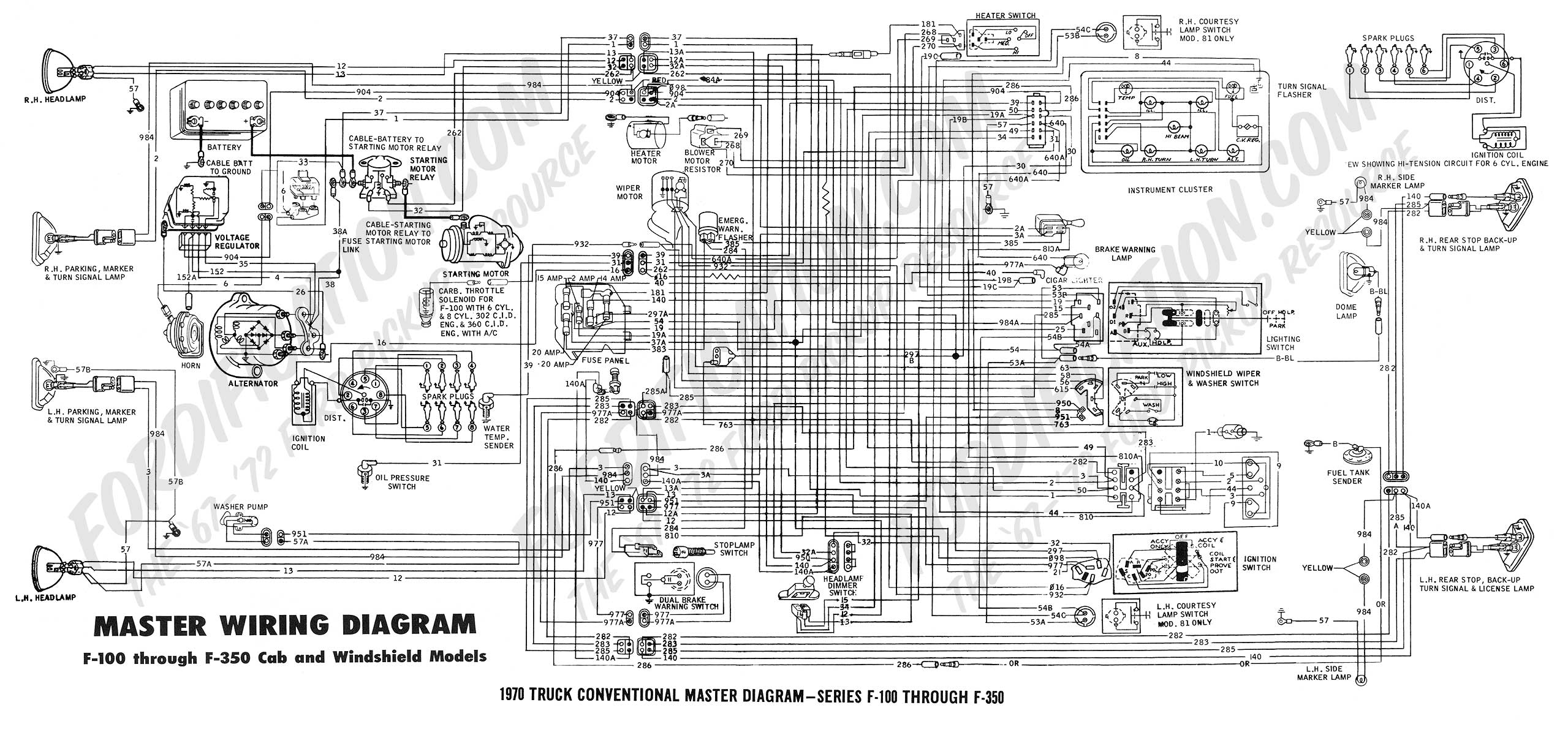 wiring diagrams enable technicians to warn winch contactor help alternator harness ford truck enthusiasts