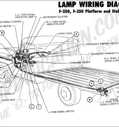 ford truck tail light wiring ford truck technical drawings and schematics section h wiring1970 f 250 f 350 platform stake [ 1011 x 800 Pixel ]