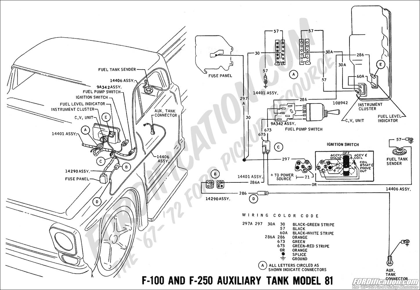hight resolution of 1969 f 100 f 250 auxiliary fuel tank model 81